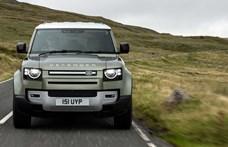 Kipufogógáz helyett tiszta víz: itt a hidrogénes Land Rover Defender