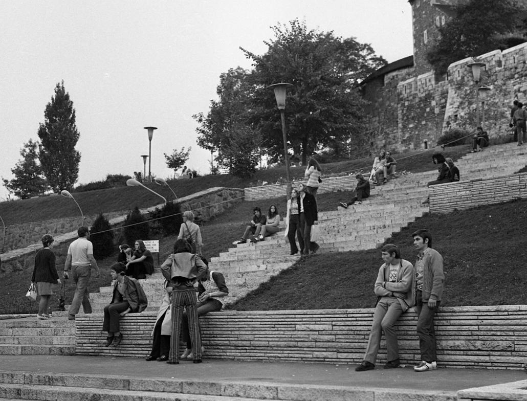 fortepan_! - 1974. körül - Budai Ifjúsági Park, Várkert bazár
