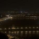 Egy órára elsötétül Budapest