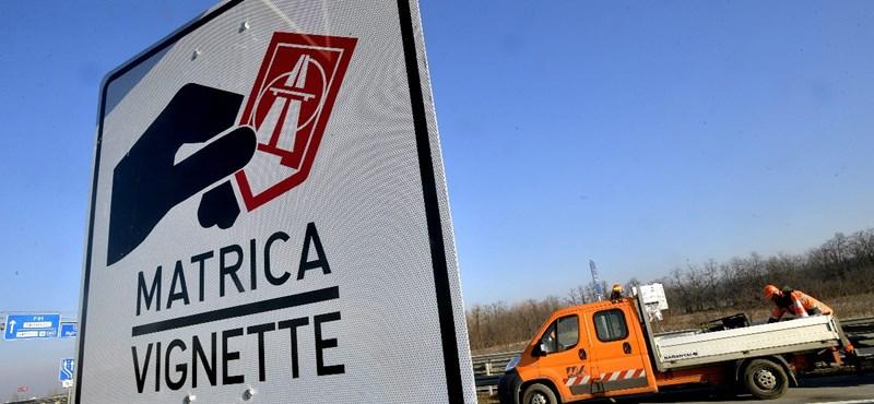 Keresztbe tehet a magyar autópályamatricáknak az Európai Unió