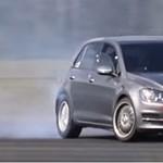 Teljesen elvetemült a driftautóvá alakított Volkswagen Golf - videó