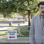 Újra akcióba lendült Borat, ezúttal az amerikai félidei választásokat próbálta befolyásolni – videó