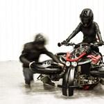 Videó: teszten már felszállt a franciák repülő motorkerékpárja