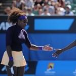 Serena Williams rosszul lett a pályán, feladta a meccset