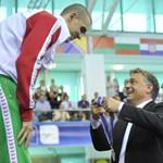 Orbán adja át az Eb érmeit