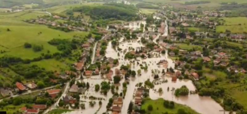 Sáros áradat csapott le a falvakra, még mindig nem tudni, pontosan mekkora a kár