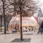 Buborékokat épített a belvárosban az IKEA - fotók