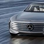 Tejesen új, ultra luxus elektromos autón dolgozik a Mercedes