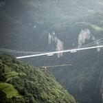 Lezárták a kínai csodahidat