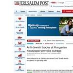 Bayer Zsolt írásai kicsapták a biztosítékot a Jerusalem Postnál