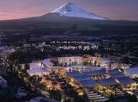 Okosvárost épít a Toyota a Fuji hegynél