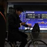 Harmadik napja zár mínuszban a tokiói tőzsde