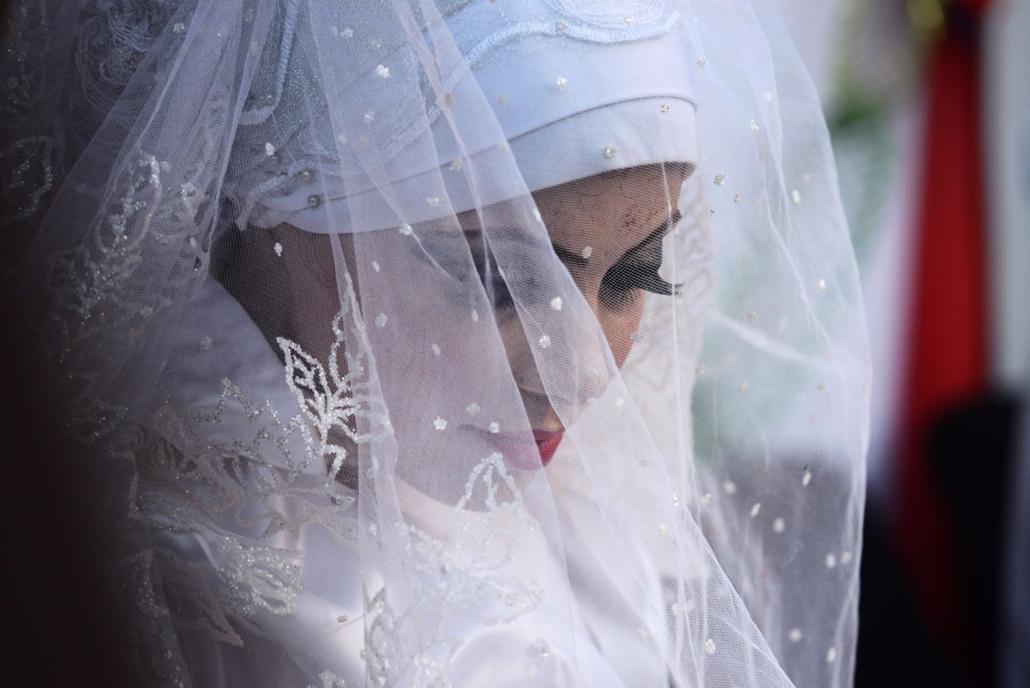 afp. hét képei - Gázai konfliktus - Palesztin esküvő 2014.08.14.