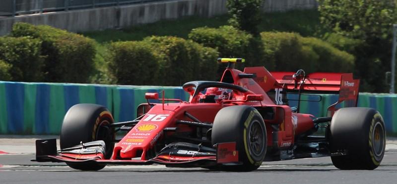 Leclerc behúzta élete első F1-es győzelmét