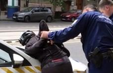 Vádat emeltek a Bartók Béla úton megbilincselt biciklissel szemben