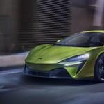 Szupergyors az első zöld rendszámos McLaren sportkocsi