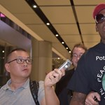 Dennis Rodman elsírta magát Kim Dzsong Un és Donald Trump találkozóján