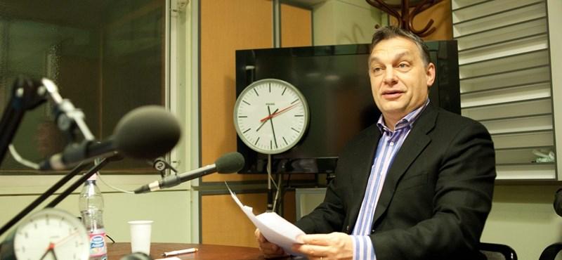 """Orbán: """"Nem mondom, hogy könnyű az élet"""""""
