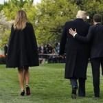 Megint jól megszorongatta egymás kezét Trump és Macron - videó