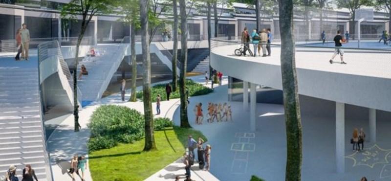 Olyan iskola épülhet Debrecenben, amit eddig csak sci-fikben láttunk