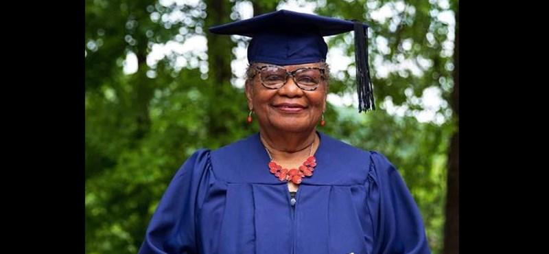Minden egyetemista példaképe lehetne: 78 évesen szerzett diplomát a dédnagymama