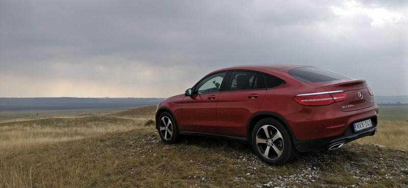 Mercedes GLC Coupé teszt: rácsaptak a fenekére