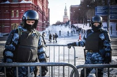 Több mint ötszáz letartóztatott a Navalnij melletti oroszországi tüntetéseken