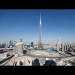 Lélegzetelállító videó Dubajból