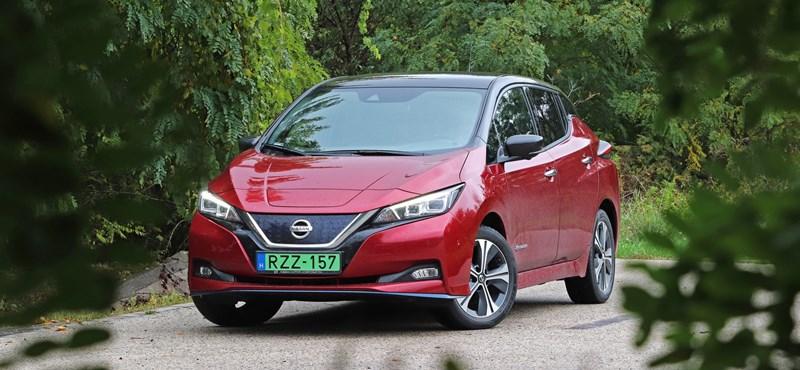 Gyorsabban jársz, tovább érsz: teszten a Nissan Leaf e+ villanyautó