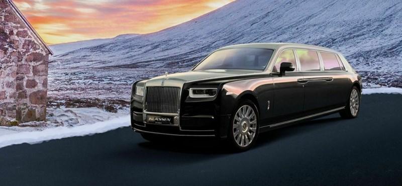 Hétméteres és teljesen páncélozott Rolls-Royce Phantom 995 millióért rendelhető