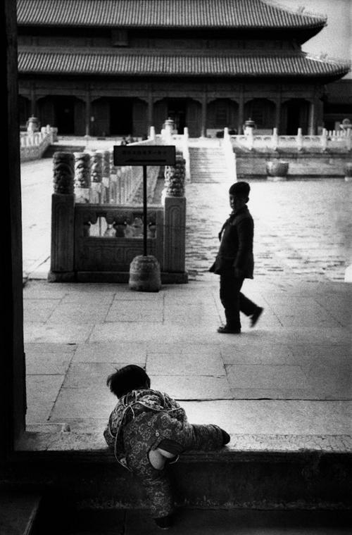 Peking, Kína, 1957 - zselatinos ezüst - Mai Manó Ház, kiállítás, Marc Riboud