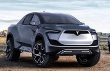 Elon Musk: Olyan lesz a Tesla pickupja, mint valami harci jármű a jövőből
