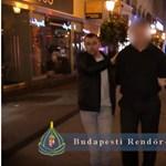Újabb Váci utcai turistacsapdára csaptak le a rendőrök – videó