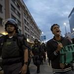 Diákok tüntettek az olimpia ellen: fotók