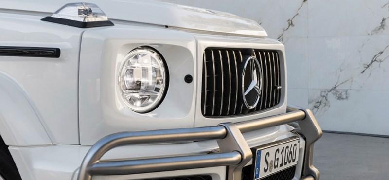 585 lóerős kocka: itt a teljesen új Mercedes G63