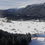 Nincs hó az osztrák sípályákon: évtizedek óta nem volt ilyen