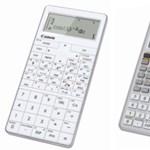 Új, nagy tudású modellek a Canon számológép-kínálatában