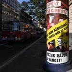 Zajlik a kampány: cirkusz és a nyulak után megjelentek a bábok is Budapesten