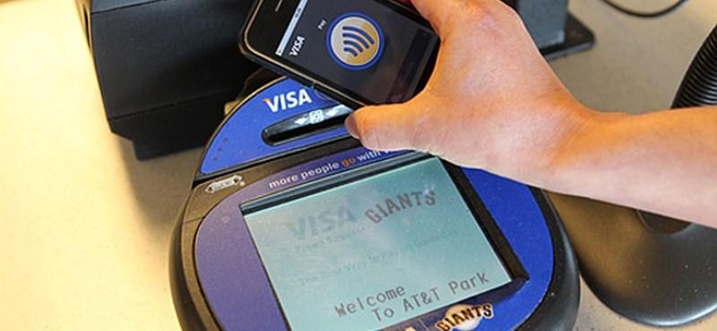 Az okostelefonos fizetés kisöpri a kápét és a hitelkártyát