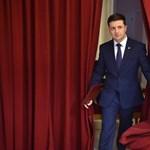 Exit poll: Zelenszkij vezet az ukrán elnökválasztás első fordulójában