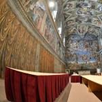 Így még nem látták a Sixtus-kápolnát