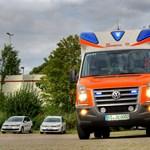 Új mentőautók érkeznek Magyarországra