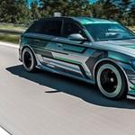 Utcai autóba költöztették a Formula–E-t – 1000 lóerős az Audi RS6-E