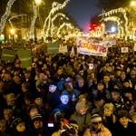 """""""Viktátor"""" - kormányellenes tüntetéssel indult az új év"""
