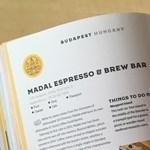 Budapesti kávézókat ajánl a Lonely Planet a legjobbak közt – itt belenézhet a könyvbe