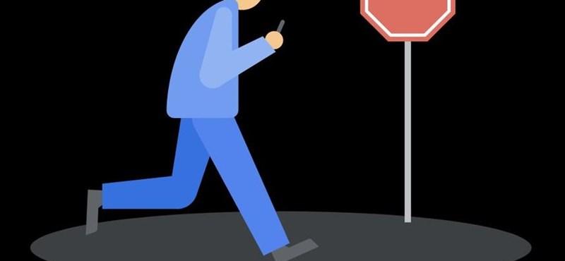 Új androidos funkció jön, ami szólni fog, ha sétálás közben is mobilozunk