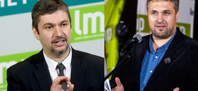 """""""Leprások, megfélemlítés"""": az LMP és a baloldal jövőjéről szól Sallai és Hadházy párbaja"""