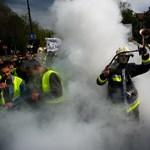 Villám-fotógaléria az Andrássy úti demonstrációról
