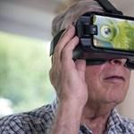 Virtuális valósággal kezelik az időskori elbutulást egy brit kísérletben