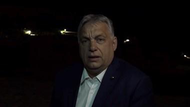A portói éjszakából jelentkezett be Orbán Viktor